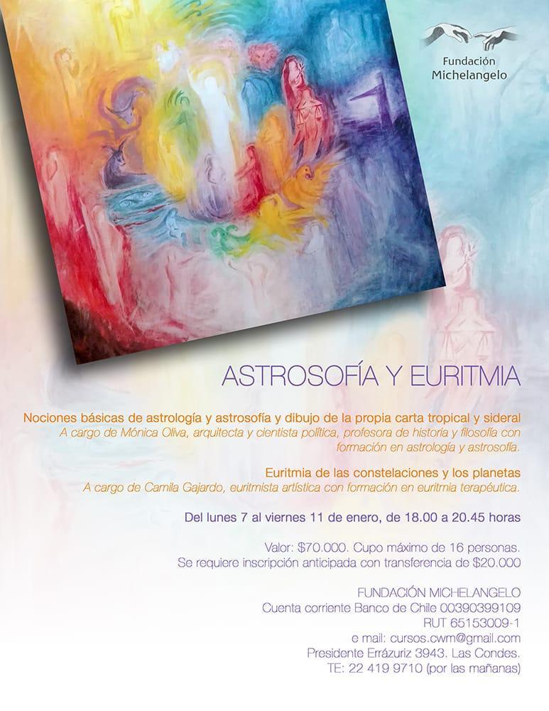Curso Enero Astrosofía y Euritmia